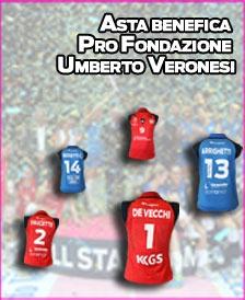 #asta benefica della Lega Pallavolo Serie A Femminile a favore di Fondazione Veronesi