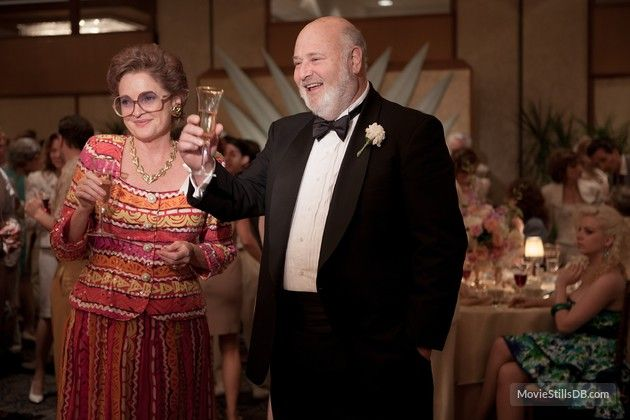 The Wolf of Wall Street - Publicity still of Rob Reiner & Christine Ebersole