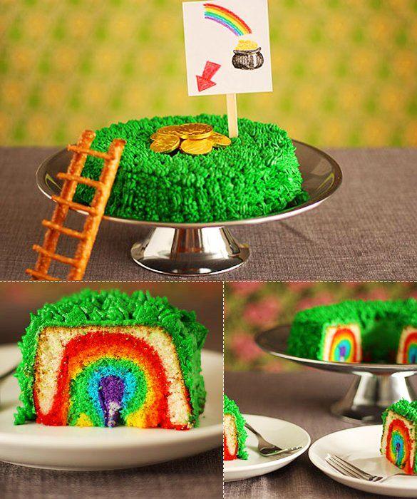 Instructions To Make A Rainbow Fairy Cake