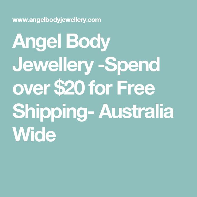 Angel Body Jewellery -Spend over $20 for Free Shipping- Australia Wide