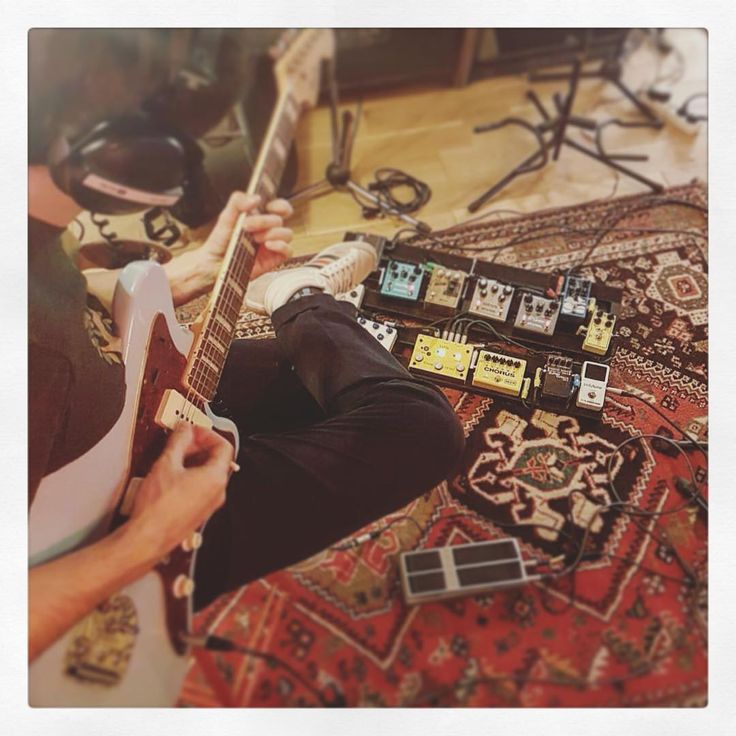 Passion guitare au @studioUFO #album #recording #guitare