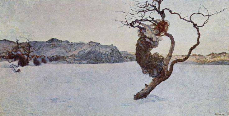 Giovanni Segantini, Le Cattive Madri (The Evil Mothers / Les mauvaises mères), 1894