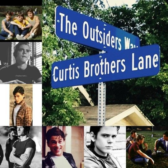 The Curtis Brothers from the Outsiders!!