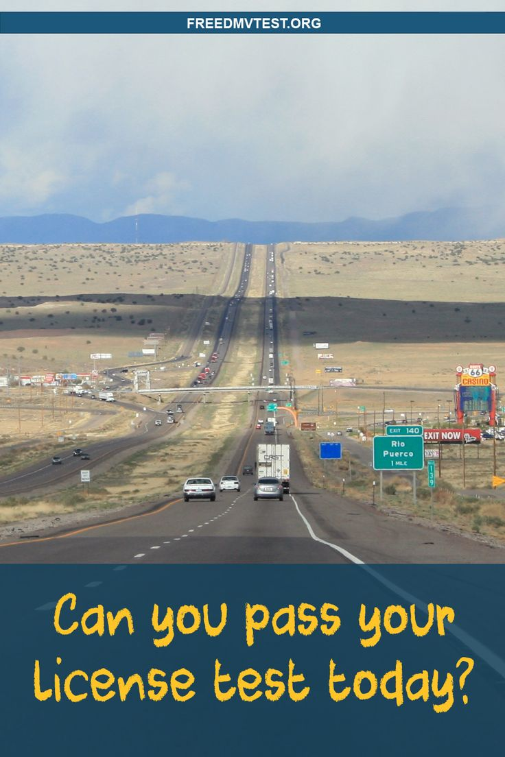 Can You Pass Your License Test Today? Dmv test, Licence