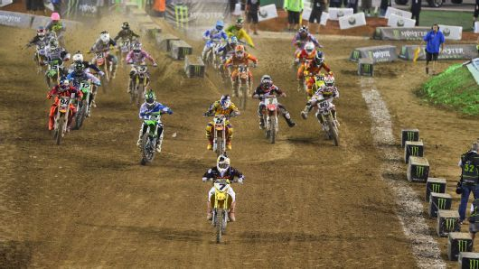 Welcome back James Stewart.  We missed you.  2013 Monster Energy Cup.
