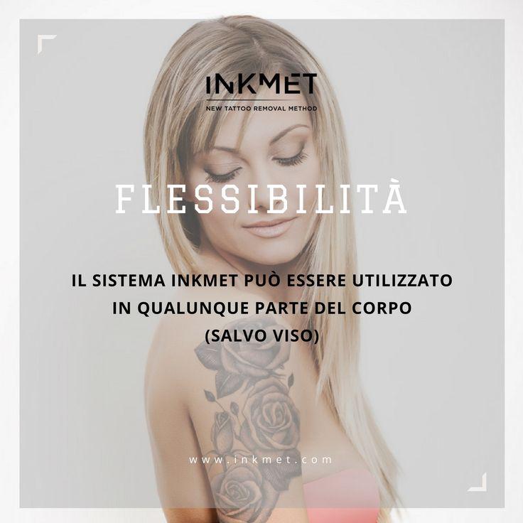 INKMET è....Flessibilità❗  Il sistema INKMET, grazie alla maneggevolezza dell'erogatore del prodotto cosmetico, ne consente l'utilizzo in qualsivoglia parte del corpo (salvo viso) anche per lunghe sessioni di trattamento  INKMET, New Tattoo Removal Method → http://inkmet.com/rimozione-tatuaggio-inkmet/  #removal #tattooremoval #rimozionetattoo #rimozionetatuaggi #tattoo #ink #inked #removalmethod #centriestetici