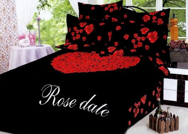Romantic Black And Red Bedroom 18 best bedroom images on pinterest | bedding sets, 3/4 beds and