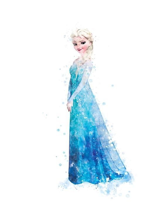 Elsa Pictures To Print