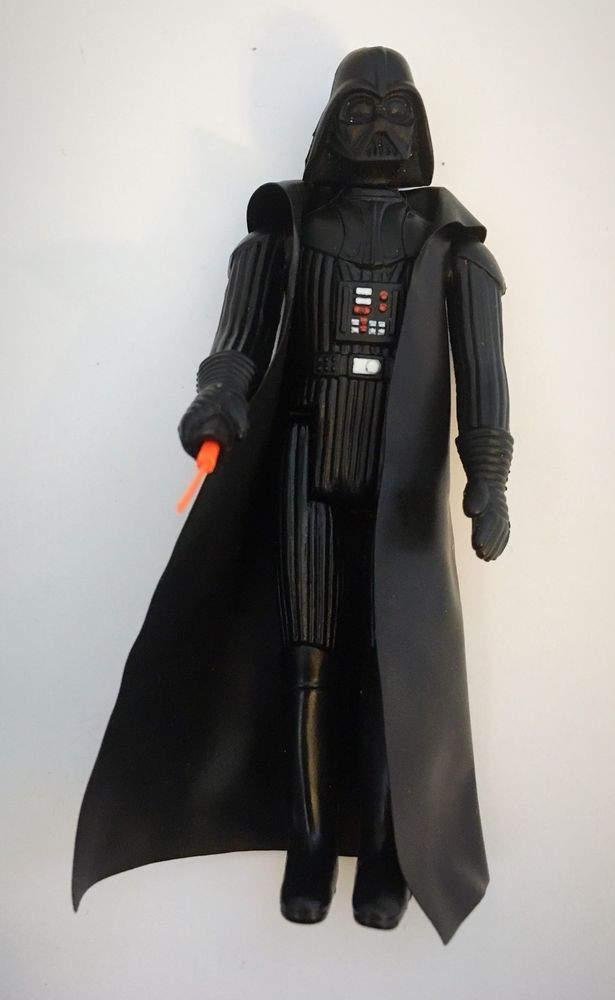1977 Kenner Vintage Star Wars Darth Vader Action Figure Lightsaber & Cape  | eBay