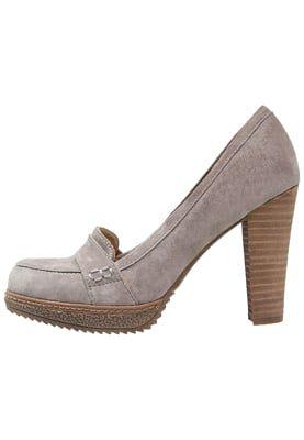 Zapatos de plataforma - light grey