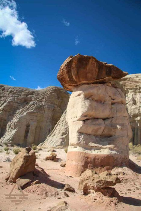 Toadstools Trail in Grand Staircase-Escalante National Monumentis remarkable and doesn't quite get the attention it deserves. The rock formations on the trail are astonishing and provide lo…