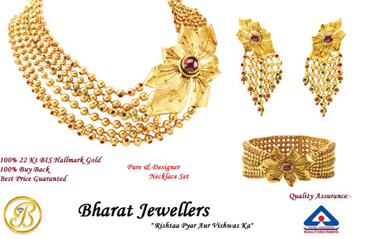 Bharat Jewellers, traders of BIS Certified #Gold #Jewellery, #Diamonds and #DiamondJewellery