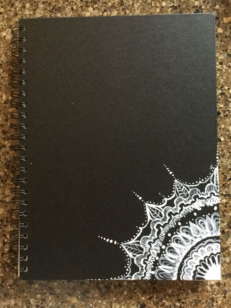 black cover page