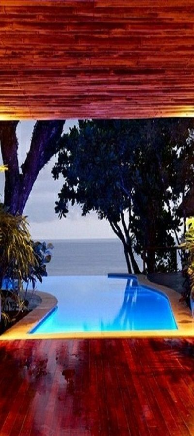 Not bad, isn't it? Pool. ideas, backyard, patio, diy, landscape, deck, party, garden, outdoor, house, swimming, water, beach.