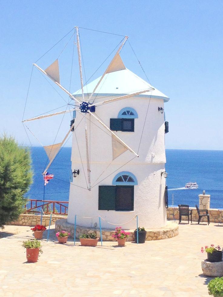 Windmill, Blue Caves, Zante