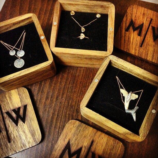 Wooden Jewellery Box by Kıymık Wooden Box Design- Ahşap Takı ve Mucevher Kutusu