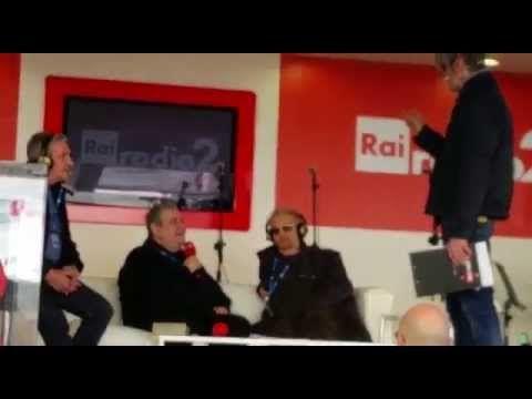 Festival di Sanremo 2015 - Stand di Radio2 con Mollica