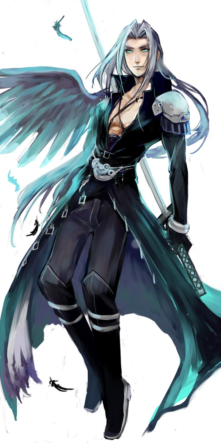 Final Fantasy 7 Anime Characters : Best images about final fantasy on pinterest