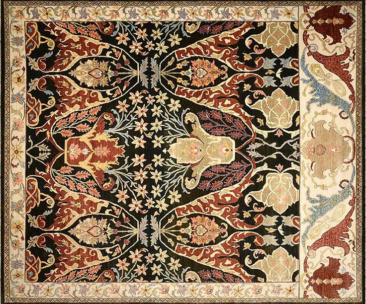 Индийские шерстяные ковры - магазин ковров ANSY Carpet Company