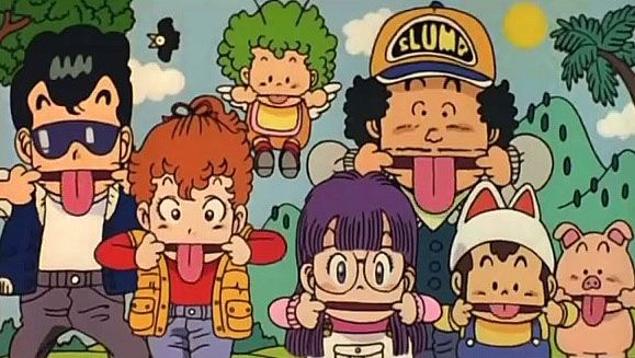 Dr. Slump. A anime/manga guaranteed to make you laugh non-stop! Created by Toriyama Akira.