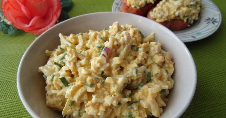 Zapraszam na pyszną pastę jajeczną z ogórkiem kiszonym oraz kremowym sosem chrzanowym. Pastę podałam na chrupiących grzankach z bułki. Każde...