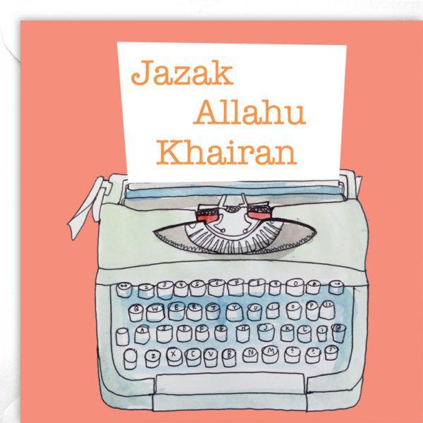 Jazak Allahu Khairan