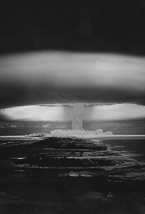 Made in America. #nuclearbomb #nuke #explosion #wtf #blackandwhite