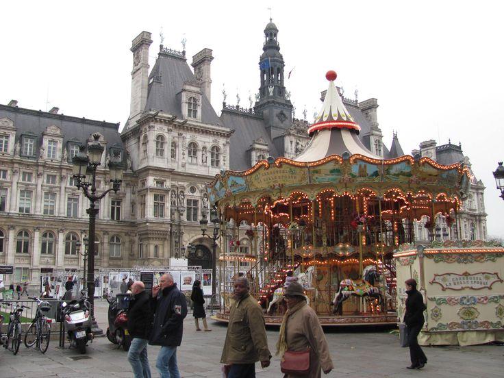 Отель де Вилль, парижская ратуша