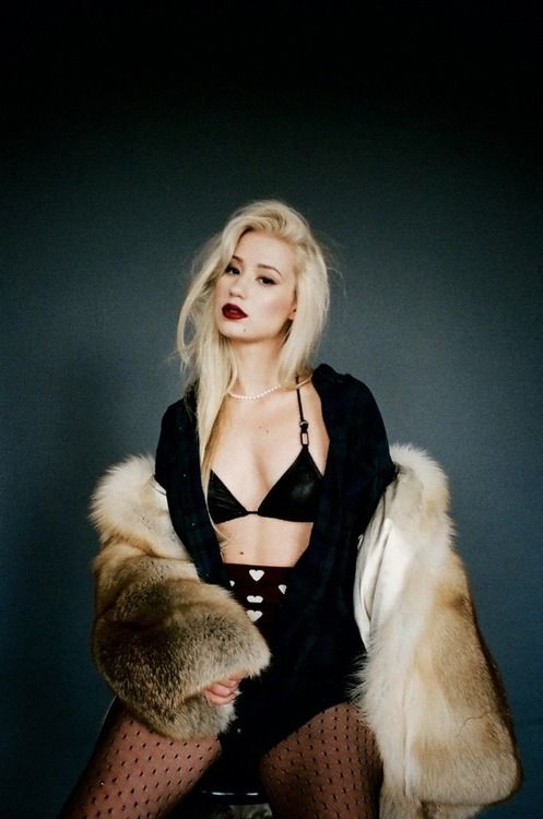 Iggy Azalea--Best all time female rapper...my fave anyway. i am obsessed!!