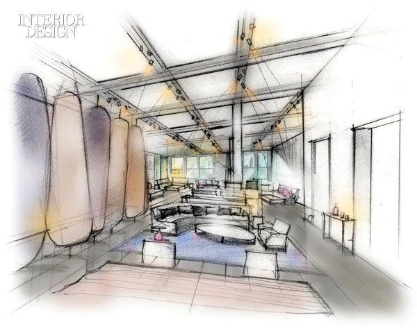 Interior design sketches google search perspective
