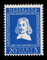Jan van Riebeeck - 20c+5c