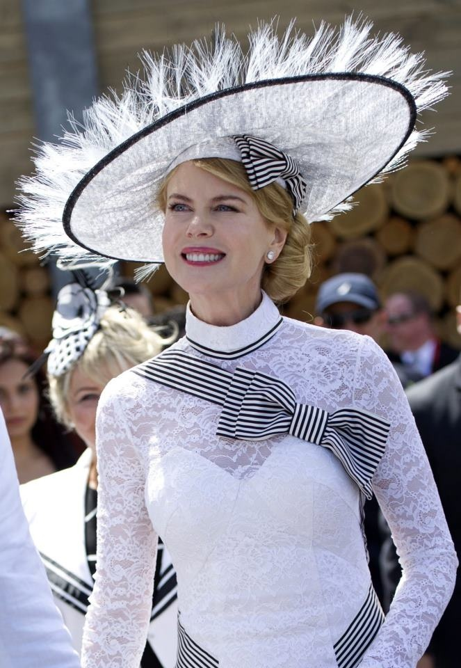 Nicole Kidman at the Melbourne Cup