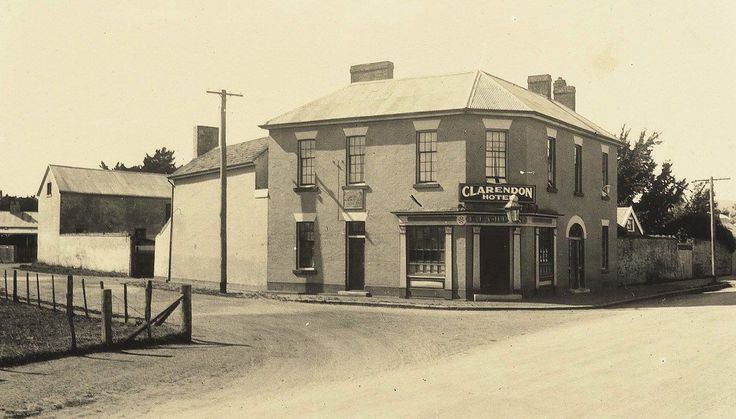 C 1938 ? Clarendon Arms Hotel, Evandale. Source: Norfolk Plains northern Tasmania family history, posted on facebook