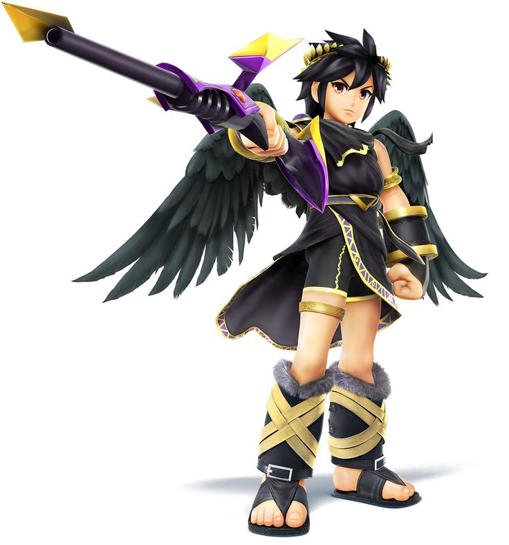 Dark Pit - Characters & Art - Super Smash Bros. for 3DS and Wii U