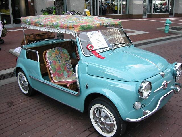 turquoise Fiat