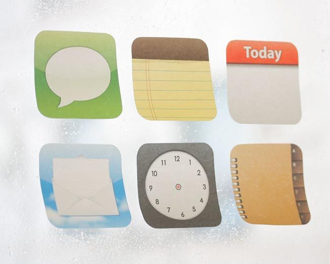 Sticky App Post-it Notes: Iphone App, Posts It Note, App Icons, Sticky Note, App Posts It, Connection Design, Sticky App, App Postit, Postit Note