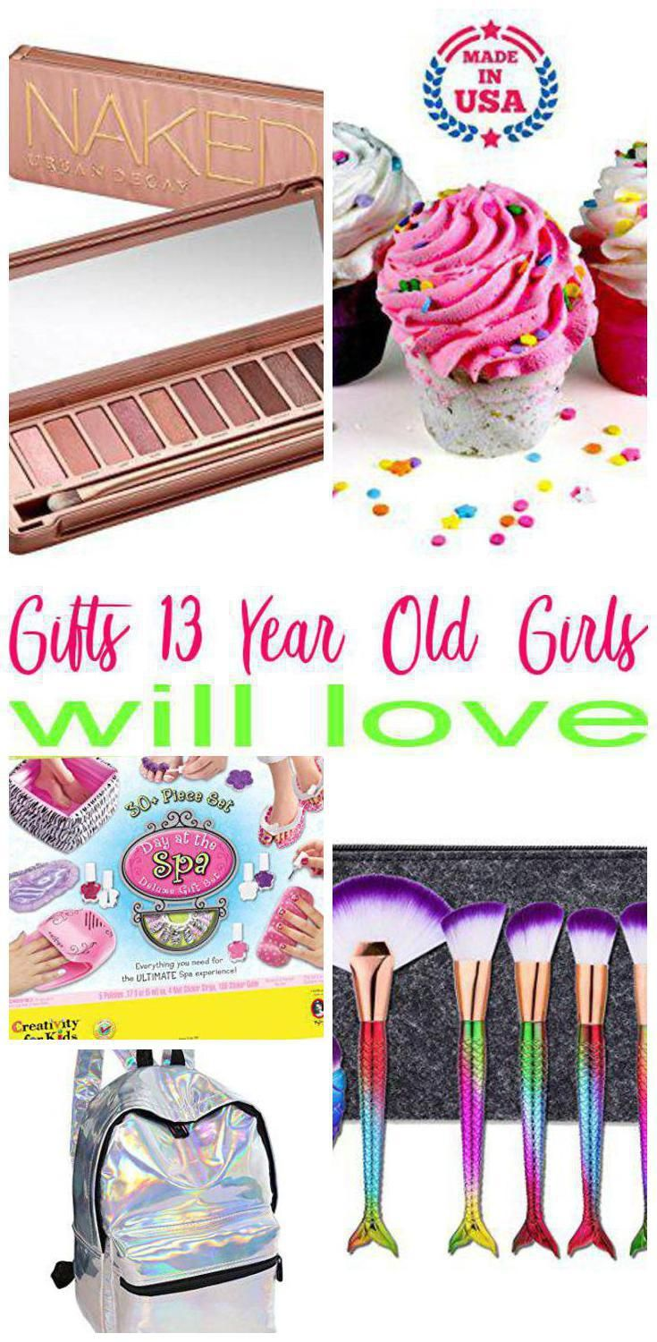 Gifts 13 Year Old Girls Best Gift Ideas For A Thirteen Year Old Girl Ideas From Makeup Gadgets Trending Christmas Gifts Gifts For Teens Diy Birthday Gifts