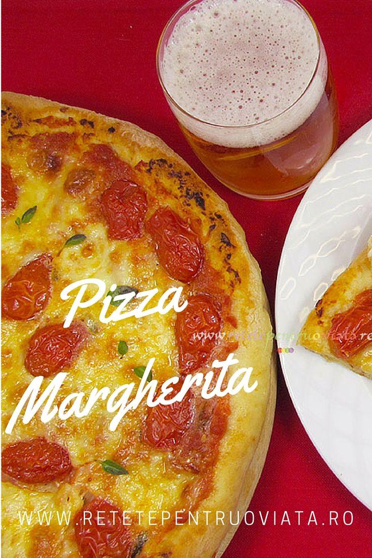 Reteta de pizza margherita are ingrediente putine dar combinatia lor unica face aceasta pizza deosebit de gustoasa si aromata!