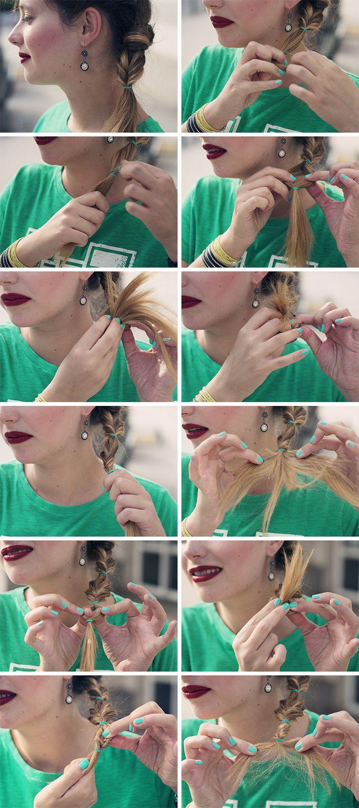 Rockygirl tutoriel coiffure cheveux longs