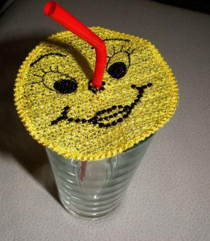 Smile pohárdszí, pohárjelölő