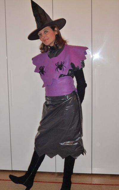 Costume fai da te per Halloween: il tutorial per l'abito da streghetta