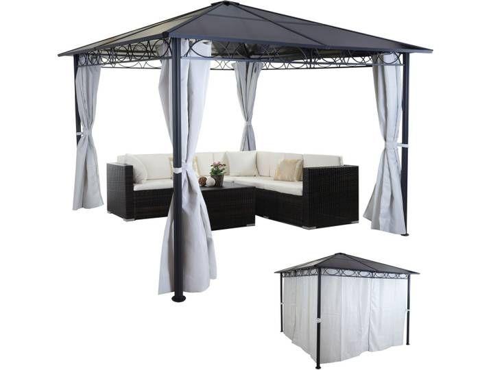 Hardtop Pergola Hwc C77 Garten Pavillon Kunststoff Dach