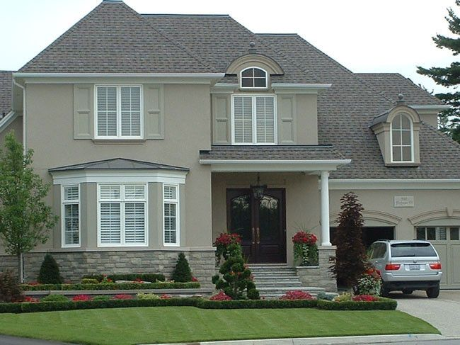 14 Best Stucco Amp Stone Combos Images On Pinterest