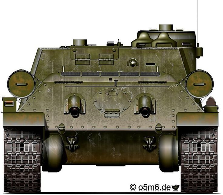 Engines of the Red Army in WW2 - SU-100 SPG