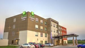 Spencer (IA) Holiday Inn Express Spencer United States, North America Holiday Inn Express Spencer is a popular choice amongst travelers in Spencer (IA), whether exploring or just passing through. The hotel offers guests a range of services and amenities designed to provide comfort and convenience. Free Wi-Fi in all rooms, 24-hour front desk, facilities for disabled guests, express check-in/check-out, luggage storage are on the list of things guests can enjoy. Designed for comf...