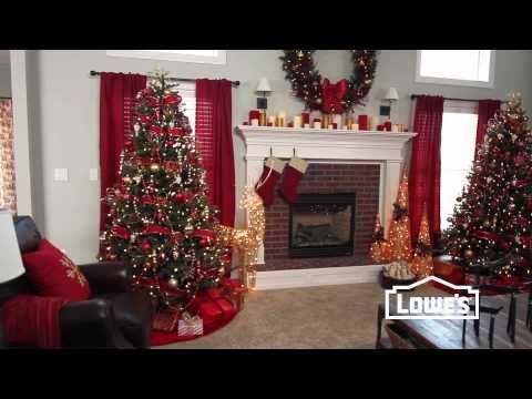 Wonderful Christmas Interior Decorating Ideas - YouTube