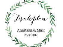 """Tischplan """"Olive-wedding"""" für die Hochzeit"""
