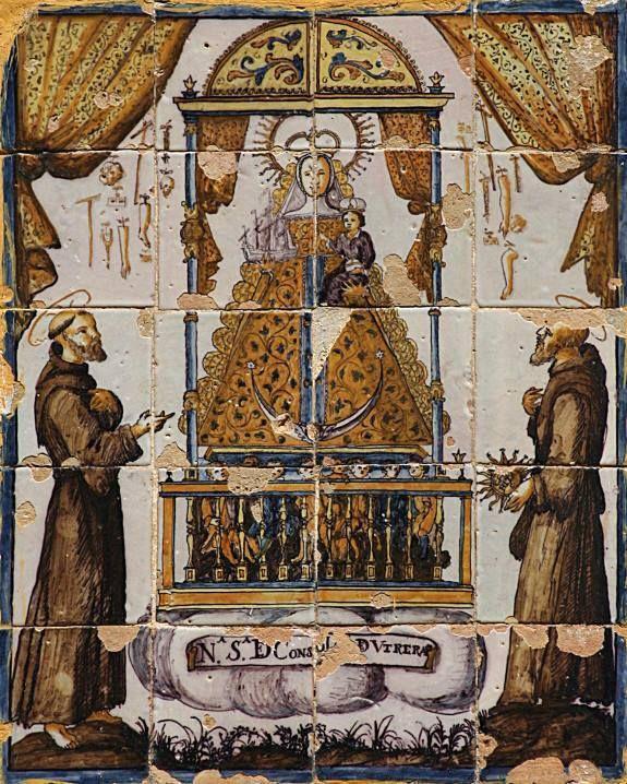 Azulejo de la Virgen de Consolación 💥