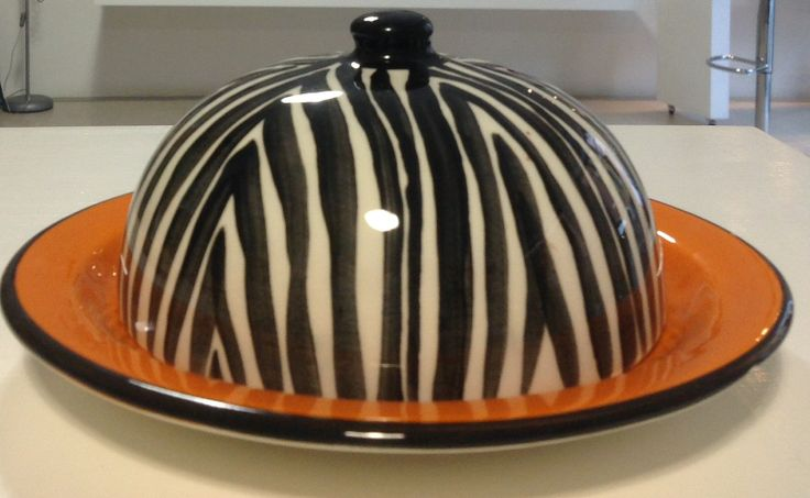 to serve cheese or buttur in a funky way ! from JuliaK ceramics. Available in store.