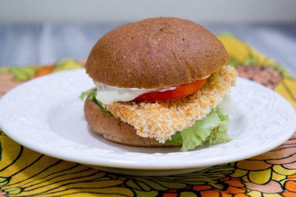 Baked Spicy Chicken Sandwiches Wendy S Inspired Recipe Spicy Chicken Sandwiches Spicy Baked Chicken Chicken Sandwich
